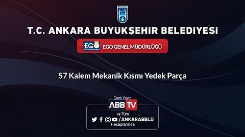 EGO GENEL MÜDÜRLÜĞÜ - 57 Kalem Mekanik Kısmı Yedek Parça