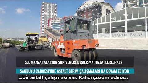 Mamak Sağduyu ve Dereboyu Caddelerinde Altyapı Çalışmalarının Sonuna Gelindi.