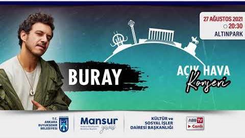 """""""Büyükşehir Parklarda"""": Müzik ve Mutluluk Zamanı @Buray Konseri"""