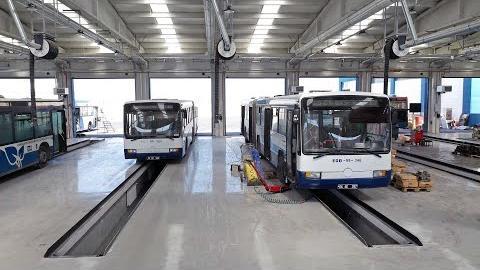 Konforlu Ulaşım İçin 3. Bölge Otobüs İşletme Şube Müdürlüğümüzü Mamak'taki Yeni Yerleşkesine Taşıdık