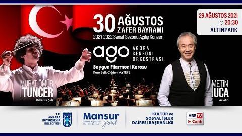 """""""Büyükşehir Parklarda"""": Müzik ve Mutluluk Zamanı; Agora Senfoni Orkestrası & Metin Uca"""