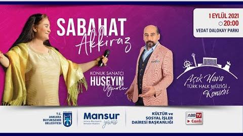 Büyükşehir Parklarda Sabahat AKKİRAZ Açık Hava Türk Halk Müziği Konseri