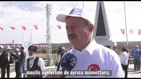 SAKARYA ZAFERİ'NİN 100. YILINDA HAYMANA'DA; Şehit Binbaşı Avni Alparslan Anıtı'nın Açılışını Yaptık