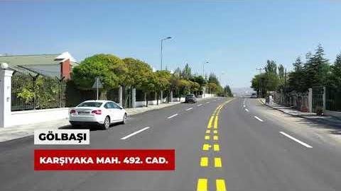 Gölbaşı'ndan Temelli'ye, caddelerimizi ilmek ilmek işleyerek yenilenmiş yollar ile kavuşturuyoruz.