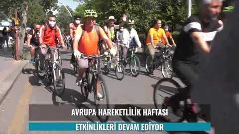 Avrupa Hareketlilik Haftası'nda Bahçelievler 7. Cadde Trafiğe Kapatılarak Bisikletlilerin Oldu