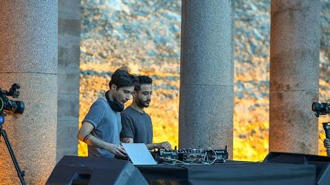 Elektronik Müzik dalgaları Sinan Çelik Outdo Angst ile Çubuk-1 Barajı Rekreasyon Alanı'nda yükseldi