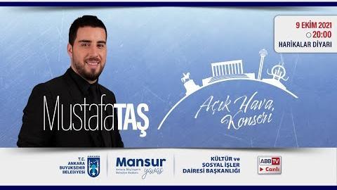 Büyükşehir Parklarda : Müzik ve Mutluluk Zamanı; Mustafa TAŞ Konseri