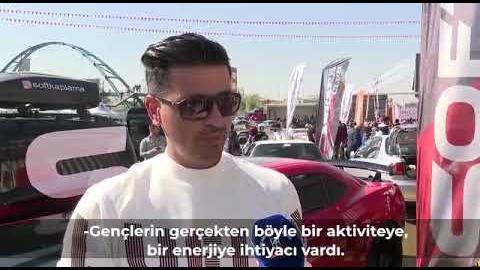 """Belediyemizin katkılarıyla, Türkiye'nin en büyük """"Drift ve Otomobil Festivali"""" gerçekleştirildi"""