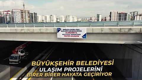 Bağlıca Bulvarı ile Ankara Çevre Yolu'nu bağlayan 3 gidiş 3 geliş bağlantı yolunu kullanıma açtık.