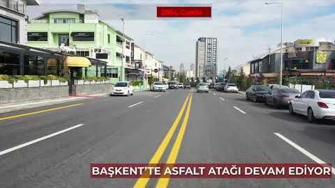 Başkent'te bu yıl 700'den fazla noktada asfalt çalışması yaparak rekor kırıyoruz.