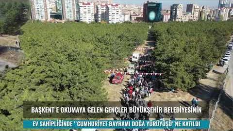 Ankara'ya gelen geçici barınma hizmeti verdiğimiz öğrencilerimize Başkent'i tanıtmaya devam ediyoruz